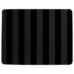 Black Stripes Jigsaw Puzzle Photo Stand (rectangular)
