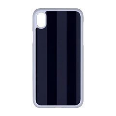 Black Stripes Iphone Xr Seamless Case (white)
