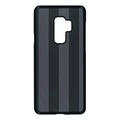 Black Stripes Samsung Galaxy S9 Plus Seamless Case(black)