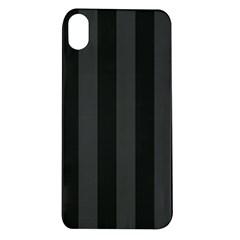 Black Stripes Apple Iphone Xr Tpu Uv Case