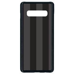 Black Stripes Samsung Galaxy S10 Plus Seamless Case (black)