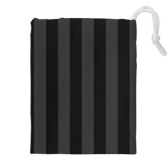 Black Stripes Drawstring Pouch (5xl)