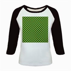 Df Green Domino Kids Baseball Jerseys by deformigo