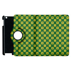 Df Green Domino Apple Ipad 3/4 Flip 360 Case by deformigo