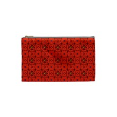 Tiling Zip A Dee Doo Dah+designs+red+color+by+code+listing+1 8 [converted] Cosmetic Bag (small) by deformigo