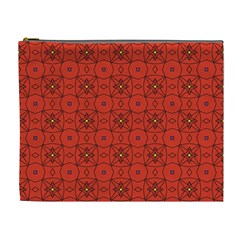 Tiling Zip A Dee Doo Dah+designs+red+color+by+code+listing+1 8 [converted] Cosmetic Bag (xl) by deformigo