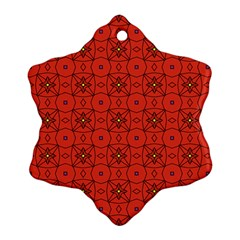 Tiling Zip A Dee Doo Dah+designs+red+color+by+code+listing+1 8 [converted] Snowflake Ornament (two Sides) by deformigo