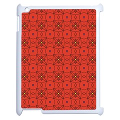 Tiling Zip A Dee Doo Dah+designs+red+color+by+code+listing+1 8 [converted] Apple Ipad 2 Case (white) by deformigo