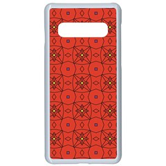 Tiling Zip A Dee Doo Dah+designs+red+color+by+code+listing+1 8 [converted] Samsung Galaxy S10 Seamless Case(white) by deformigo