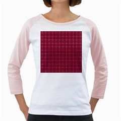 Df Ricky Purplish Girly Raglan by deformigo