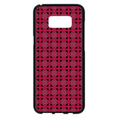 Df Ricky Purplish Samsung Galaxy S8 Plus Black Seamless Case