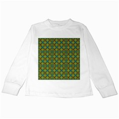 Df Dakota Rivers Kids Long Sleeve T-shirts by deformigo