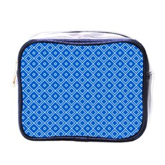 Tiling Winter Sports Dark Blue Seamless Pattern Equipment Rental At Ski Vector Id903601056 5 [conver Mini Toiletries Bag (one Side)