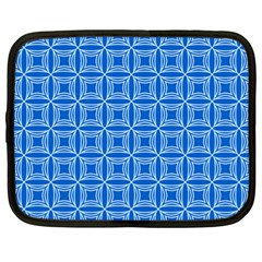 Df Blue Woollister Netbook Case (large) by deformigo