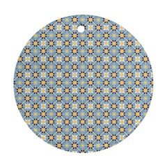 Df Norbert Pastel Round Ornament (two Sides) by deformigo