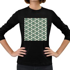 Df Tomomi Nao Women s Long Sleeve Dark T-shirt by deformigo