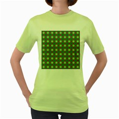 Df Ariola Niemi Women s Green T-shirt by deformigo