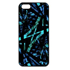 Modern Abstract Geo Print Iphone 5 Seamless Case (black)
