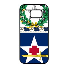 Coat Of Arms Of United States Army 111th Medical Battalion Samsung Galaxy S7 Edge Black Seamless Case
