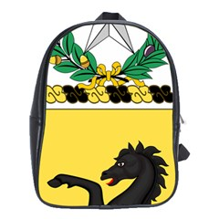 Coat Of Arms Of United States Army 112th Cavalry Regiment School Bag (xl) by abbeyz71