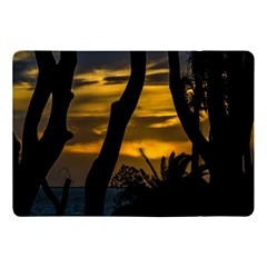 Silhouette Sunset Landscape Scene, Montevideo   Uruguay Apple Ipad Pro 10 5   Flip Case by dflcprints