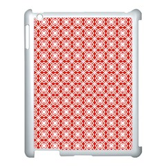 Df Persimmon Apple Ipad 3/4 Case (white) by deformigo
