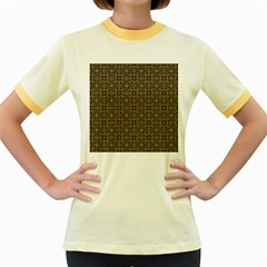 Df Nusa Penida Women s Fitted Ringer T-shirt by deformigo