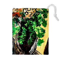Plants 1 2 Drawstring Pouch (xl) by bestdesignintheworld