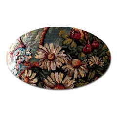 Old Embroidery 1 1 Oval Magnet by bestdesignintheworld
