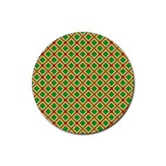 Df Irish Wish Rubber Coaster (round)  by deformigo