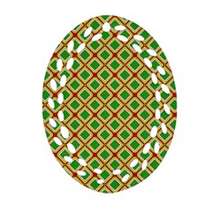 Df Irish Wish Ornament (oval Filigree) by deformigo