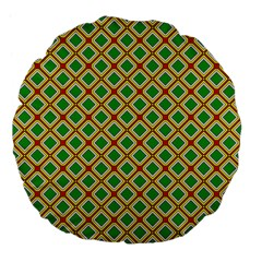 Df Irish Wish Large 18  Premium Flano Round Cushions by deformigo