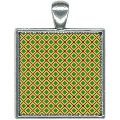 Df Irish Wish Square Necklace by deformigo