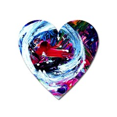 Red Airplane 1 1 Heart Magnet by bestdesignintheworld