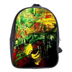 Revelation 1 2 School Bag (large) by bestdesignintheworld