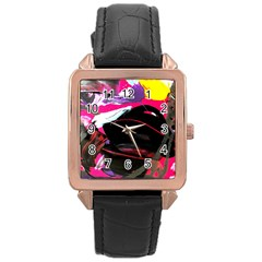 Consolation 1 1 Rose Gold Leather Watch