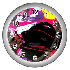 Consolation 1 1 Wall Clock (silver)
