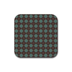 Df Catania Rubber Square Coaster (4 Pack)  by deformigo