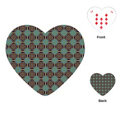 Df Catania Playing Cards Single Design (heart) by deformigo