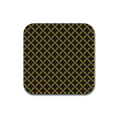 Df Joshimath Rubber Square Coaster (4 Pack)