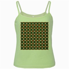 Df James Arguster Green Spaghetti Tank by deformigo