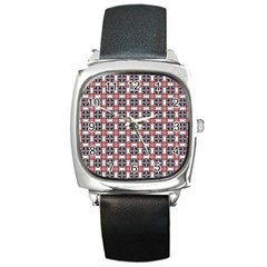 Df James Arguster Square Metal Watch by deformigo