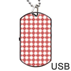 Df Crux Rubya Dog Tag Usb Flash (one Side) by deformigo