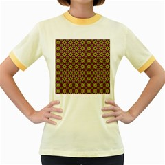 Df Semaris Women s Fitted Ringer T-shirt by deformigo