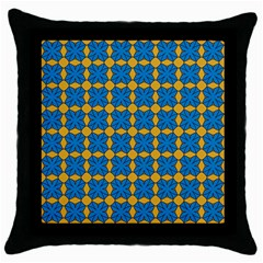 Df Jaisalmer Throw Pillow Case (black) by deformigo