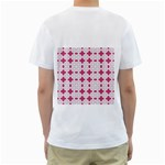 DF Hazel Conins Men s T-Shirt (White) (Two Sided) Back