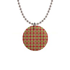 Df Hackberry Grid 1  Button Necklace by deformigo