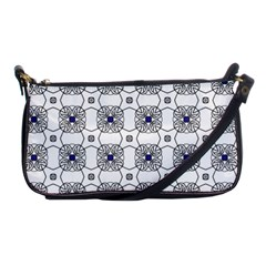 Df Snowland Shoulder Clutch Bag by deformigo