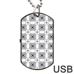 Df Snowland Dog Tag Usb Flash (one Side) by deformigo