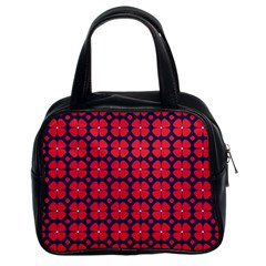 Df Clematis Classic Handbag (two Sides) by deformigo